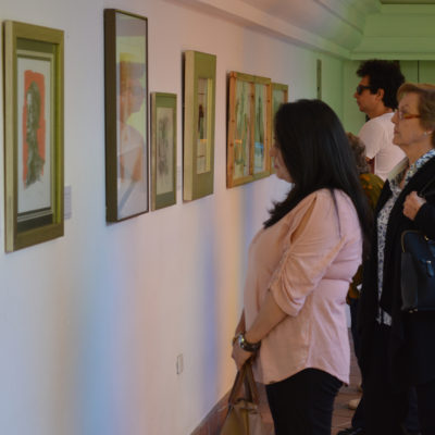 Exposición Cervantes Academia Ecuatoriana de la Lengua.