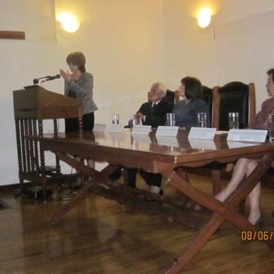 Excma. Sra. Lilian Silveira Faraco-Embajadora del Uruguay